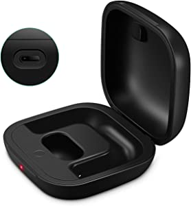 Charging Case Replacement Compatible with Powerbeats Pro Charger with Bluetooth Pairing Sync Button & 700mAh Built-in Battery (Not Include Power Beats Earbuds) Black