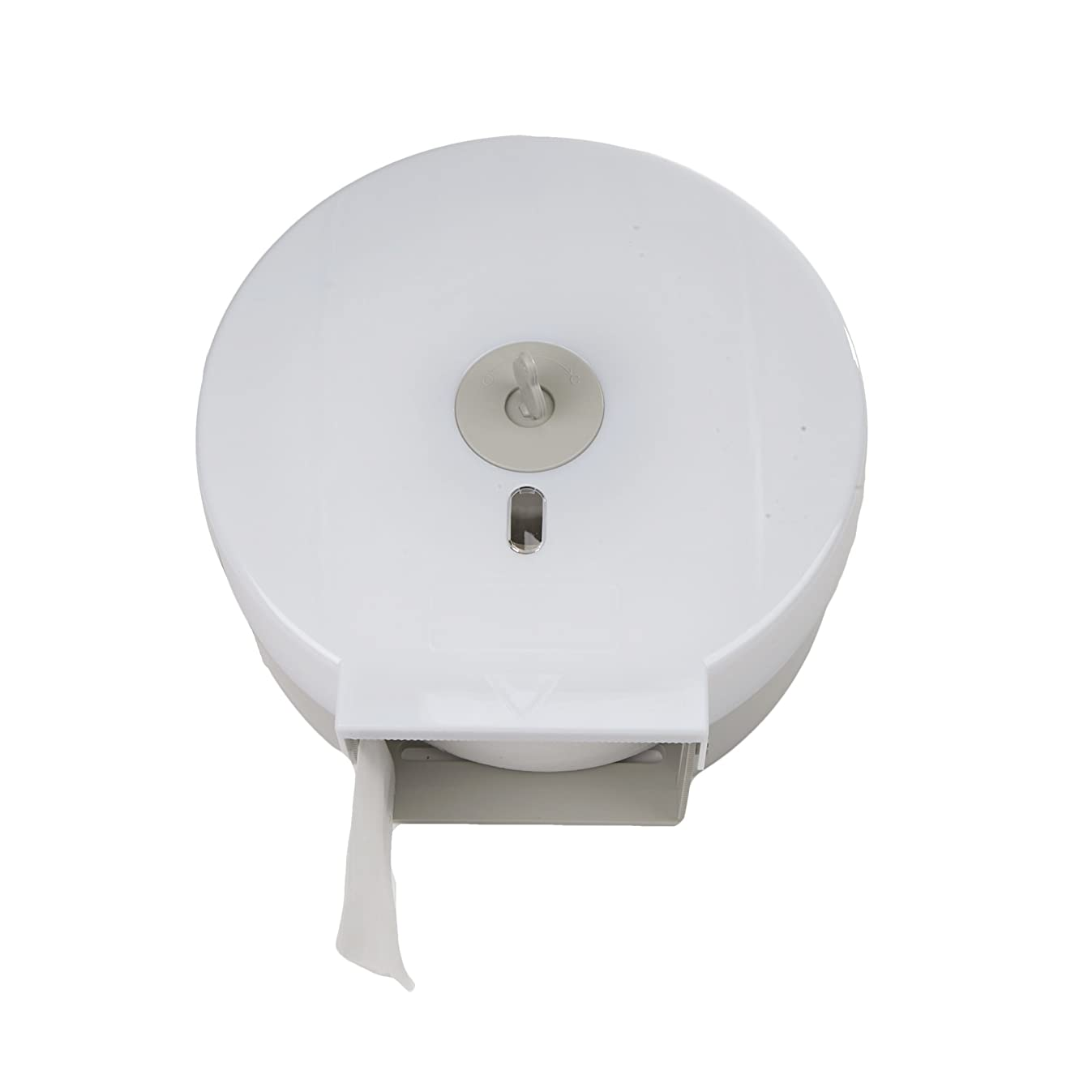 Mind Reader Commercial Bathroom Tissue Dispenser, Wall Mount Tissue Holder for Professional Bathroom 10.25 in. L x 4.88 in. W x 10.5 in. H