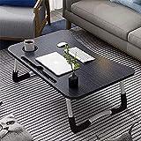 VIBRAT Laptop Table for Bed, Foldable Multifunction Laptop Desk Laptop Bed Table, Breakfast
