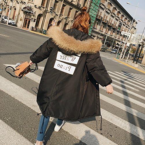 Xuanku Journées d'hiver dans L'Armée Est Longue, Harajuku Code Vestimentaire pour Les Femmes Coton Coton Veste Manteau du Genou