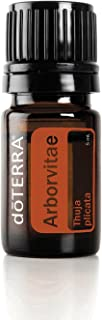doTERRA - Arborvitae Essential Oil - May Help Promote Clear Healthy Skin, Powerful Cleansing and Purifying Agent, Natural Insect Repellent and Wood Preservative; for Diffusion or Topical Use - 5mL