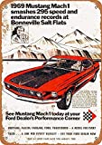 Froy 1969 Ford Mustang Mach 1 at Bonneville Salt Flats Wand