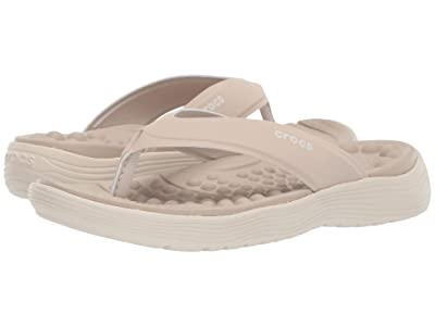 Crocs Reviva Flip (Cobblestone/Stucco) Women