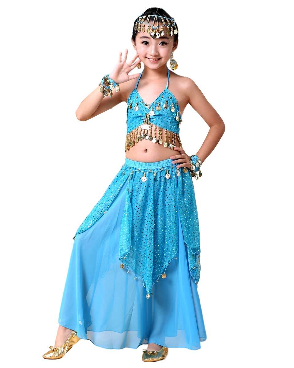 Grouptap Bollywood asiático Indio niñas árabes jazmín Danza del ...