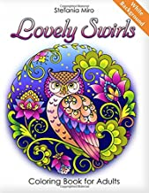 Lovely Swirls: Coloring Book for Adults