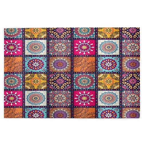 Rompecabezas para adultos 1000 piezas Bohemia Plaid Azulejo marroquí difícil juego de rompecabezas para adultos jóvenes