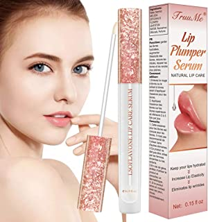 Dưỡng môi căng – Lip Plumper, Lip Enhancer, Natural Lip Care Serum, Lip Gloss for Increase Lip Elasticity, Reduce Fine Lines, Lip Hydrating, Lip Plumper, Fuller & Hydrated Sexy Lips