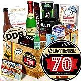 Oldtimer 70 + Geburtstagsgeschenk Oma + DDR Geschenkset Mann