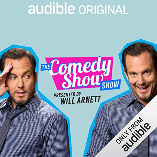 The Comedy Show Show audiobook cover art