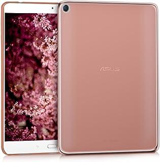 kwmobile Funda Compatible con ASUS ZenPad 3S 10 (Z500M) - Carcasa para Tablet de Silicona TPU - Cover en Oro Rosa