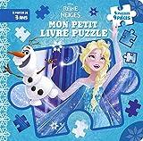 LA REINE DES NEIGES - Mon Petit Livre Puzzle - 5 Puzzles 9 Pièces - Disney