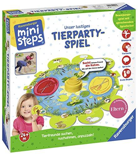 Ravensburger ministeps 04547 - Lustiges Tierparty-Spiel  D