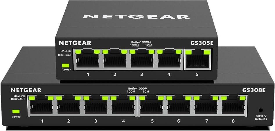 Netgear Switch 5 Port 8 Port Gigabit Ethernet Lan Computer Zubehör