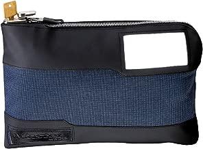Master Lock 7120D Money Bag with Key Lock 11-1/2 in. Long, Blue