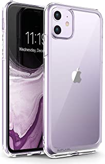 SUPCASE Unicorn Beetle Style Series Case Designed for iPhone 11 6.1 Inch (2019 Release), Premium Hybrid Protective Clear Case (Clear)