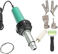 Beyondlife Plastic Hot Air Welder Heating Gun PVC Vinyl Rod Welding Hot Gas Pistol Tool 1600W