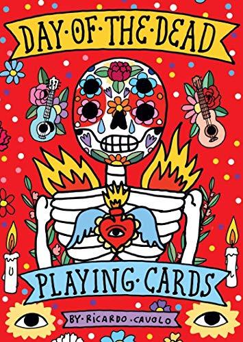 Playing Cards: Day of the Dead: (día de Los Muertos; Standard Card Deck)
