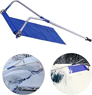 YANGLIUYL Roof Snow Rake Removal Tool with Adjustable Telescoping Handle Roof Snow Removal Tool and Prevent Damage from Happening to Your Roof 20 Ft