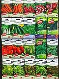 Lot de 20 sachets de graines potagères Sanrival, pas cher, jardin ouvrier