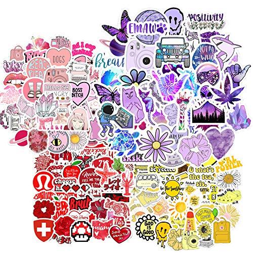 LATTCURE 200pcs Aufkleber, Wasserdicht Mädchen Sticker Decals Graffiti Vintage Dekorative Sticker für Laptop, Kinder, Fahrrad, Skateboard Gepäckr Sticker