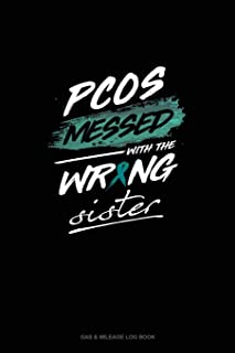 PCOS Messed with the Wrong Sister: Gas & Mileage Log Book