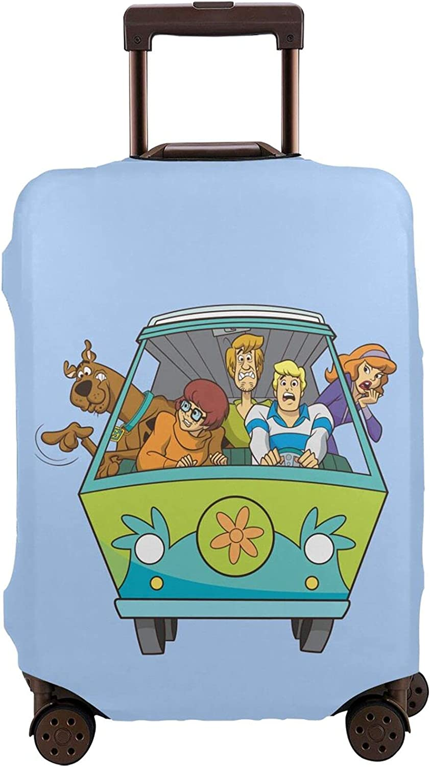 Scooby famous Doo Travel 4 years warranty Suitcase Luggage Washable Protector Protective