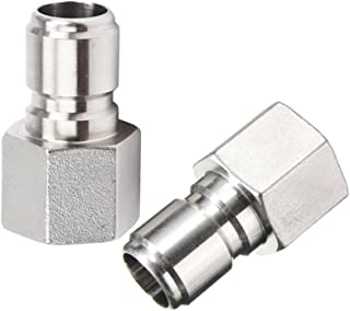 2Pcs Stainless Steel Female Quick Disconnect FPT 1/2