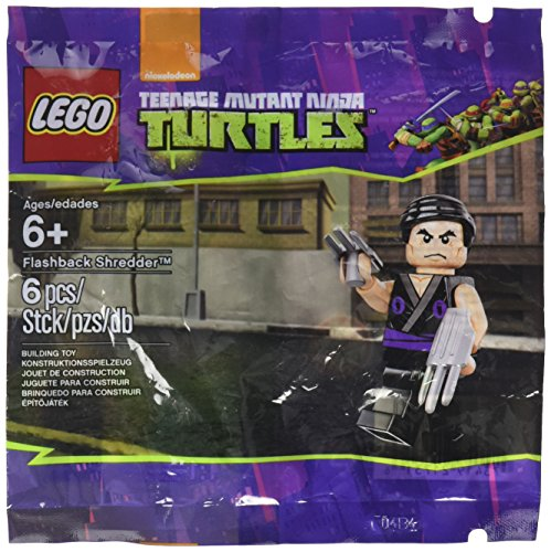 Lego Flashback Shredder 5002127 TMNT Teenage Mutant Ninja Turtles