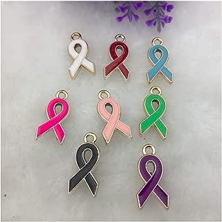 multicolor cancer awareness ribbon