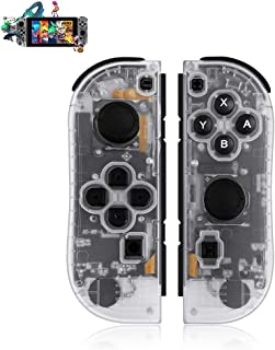 SINGLAND Wireless Controller for Nintendo Switch,Switch Gamepad with Dual Shock Vibration Motor Gyro 6-axis Sensing Turbo ...