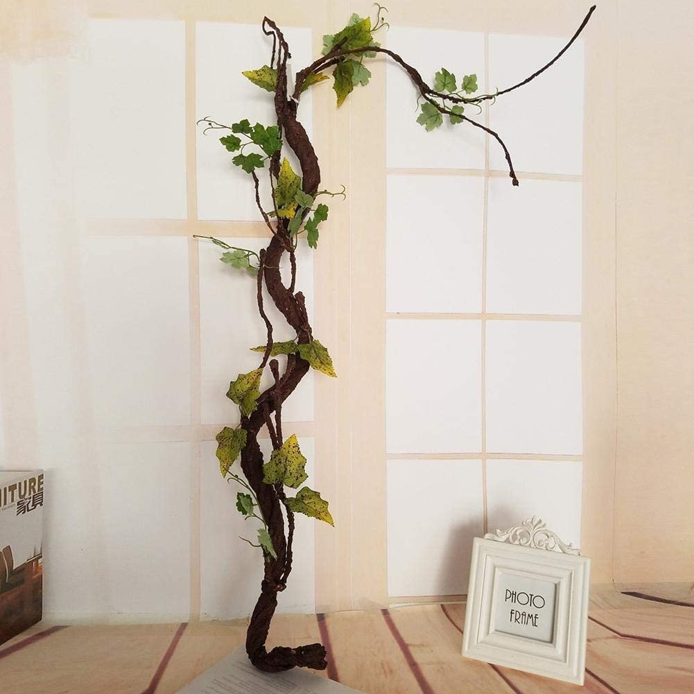 Artificial Potted Plant Long Tree Dried Plastic Direct sale of manufacturer Soft Topics on TV