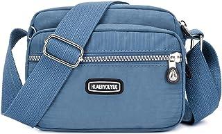 SEVENHOPE Damska torba crossbody Pocketbooki Portfele i Torebki z wieloma kieszeniami Torba na ramię z przegródkami na karty