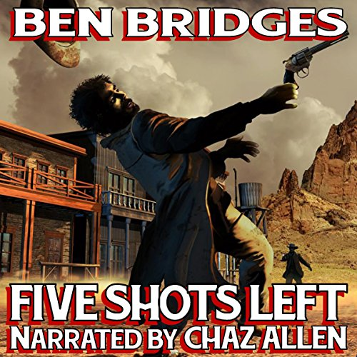 Five Shots Left audiobook cover art