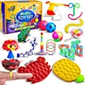 Armgic Fidget Box, Stress Relief Toy Set, Including Novelty and Funny Anxiety Relief Toys, Fidget Pack Specialized for Fidget People. by Armgic