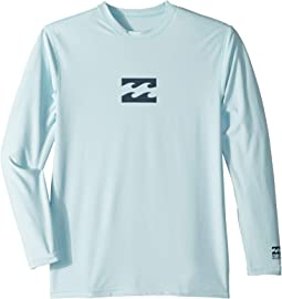 All Day Wave LF Long Sleeve Rashguard (Toddler/Little Kids/Big Kids)