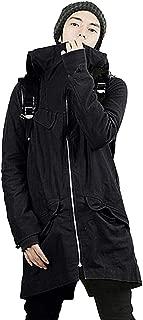 AMBLY モッズコート メンズ 大きいサイズ アウター カジュアル 秋 冬 黒 緑 カーキ系