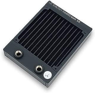 EKWB EK-CoolStream SE 120 Radiator, Slim Single, Black