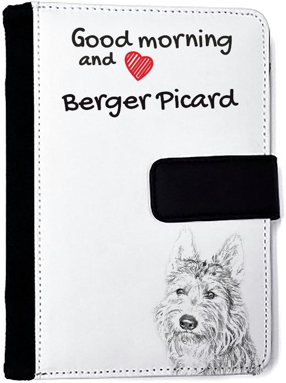Berger Picard, Außergewöhnliches Notizbuch aus Kunstleder mit Hund B01IZW47XK   Attraktive Mode
