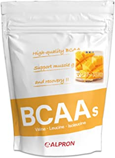 アルプロン BCAA 1kg マンゴー風味(アミノ酸 ALPRON 粉末ドリンク 国産)
