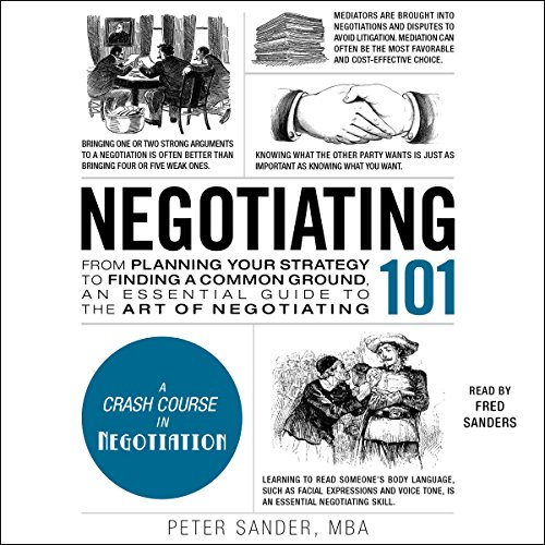 Negotiating 101 audiobook cover art
