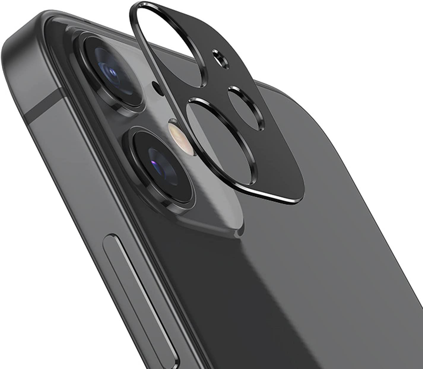 Camera Lens Screen Protector Compatible with iPhone 12 of Clear Tempered Glass Back Camera Protector,case Friendly,Ultra-Thin,Easy Installation