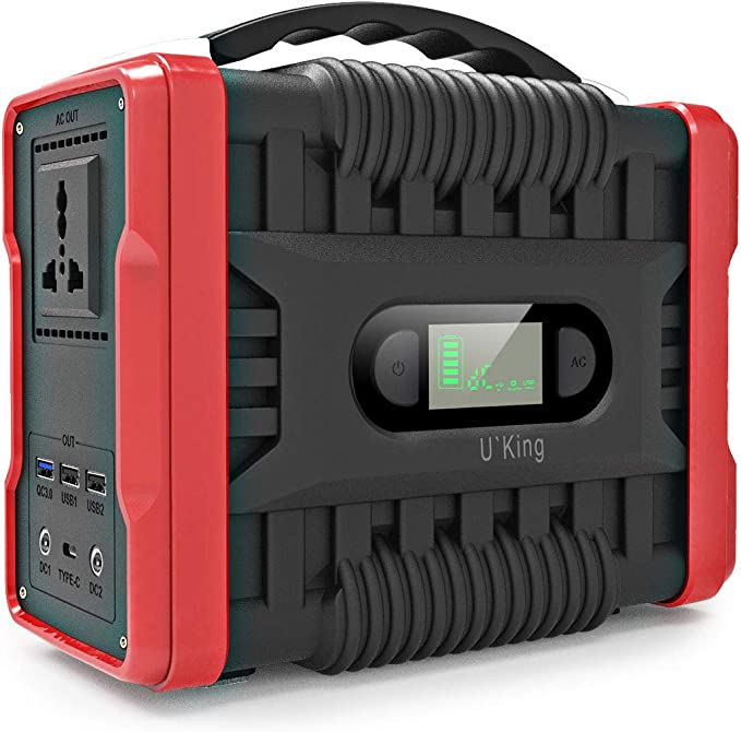 35 opinioni per UKing Generatore Portatile 222Wh/60000mAh Accumulatore di Energia con DC/AC