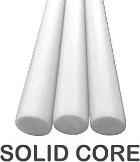 Oodles Solid Core Deluxe Foam Pool Swim Noodles 3 Pack 5 Foot Length