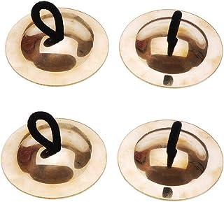 Andoer® Belly Danza Crótalos Oro Instrumento Musical