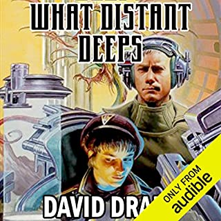 What Distant Deeps audiobook cover art