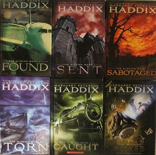 The Missing Series Set by Margaret Peterson Haddix Books 1-6