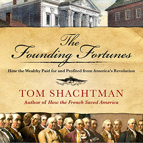 Page de couverture de The Founding Fortunes