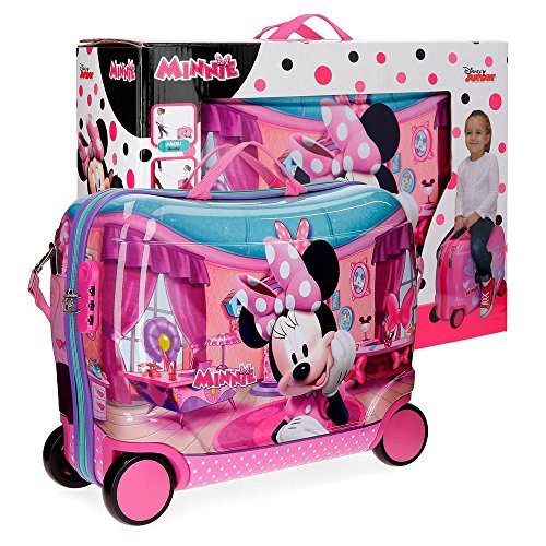 Disney Minnie Smile Valigia per bambini, 50 cm, 34 liters, Rosa