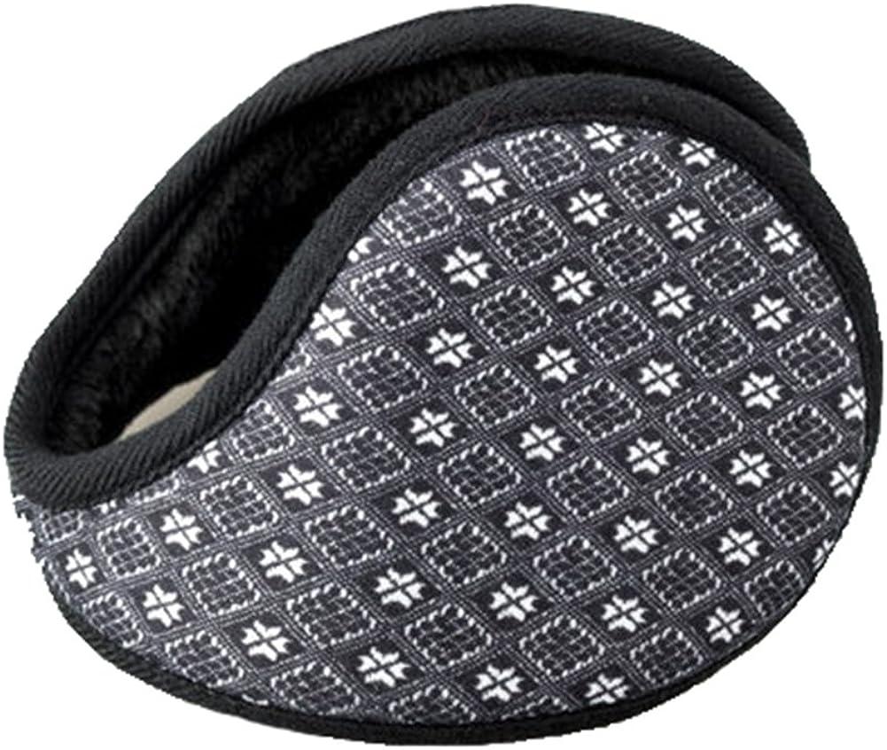 Unisex Outdoor Winter Warm Earmuffs Behind-the-Head Ear Muffs (003)