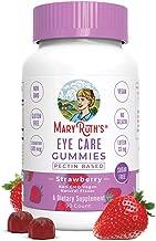 چشم های ویتامین ها - مراقبت از چشم Gummy Chewable Supplements - Zeaxanthin، Multivitamins Lutein - Gummies بدون شکر با تمام عناصر طبیعی - Vegan، Paleo Friendly، Celiac Friendly - 45 روز عرضه (90 C